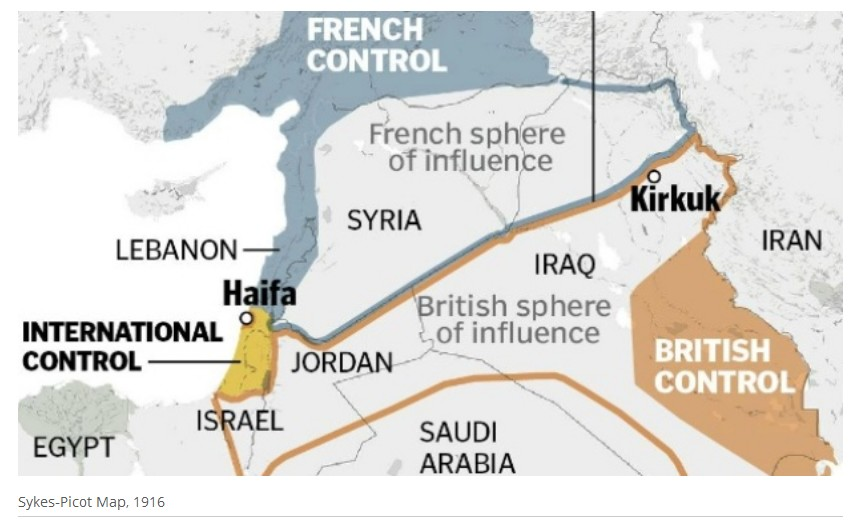 Redrawing The Map Of The Middle East Information Clearing House Ich